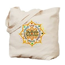 Multiple Sclerosis Lotus Tote Bag