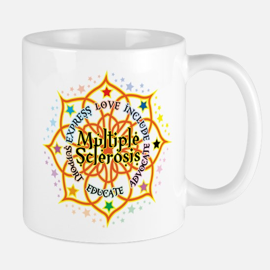 Multiple Sclerosis Lotus Mug