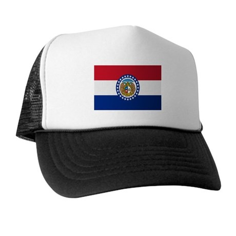 Beloved Missouri Flag Modern Trucker Hat