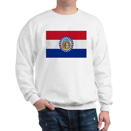 Beloved Missouri Flag Modern Sweatshirt