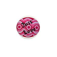 Just Love 2 Mini Button