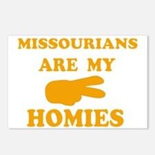 Missourians are my homies Postcards (Package of 8)
