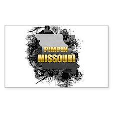 Pimpin' Missouri Rectangle Decal