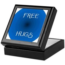 Free Hugs 2 Keepsake Box