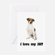 Jack Russell Terrier Lover Greeting Card