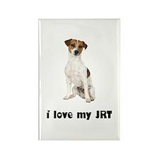 Jack Russell Terrier Lover Rectangle Magnet
