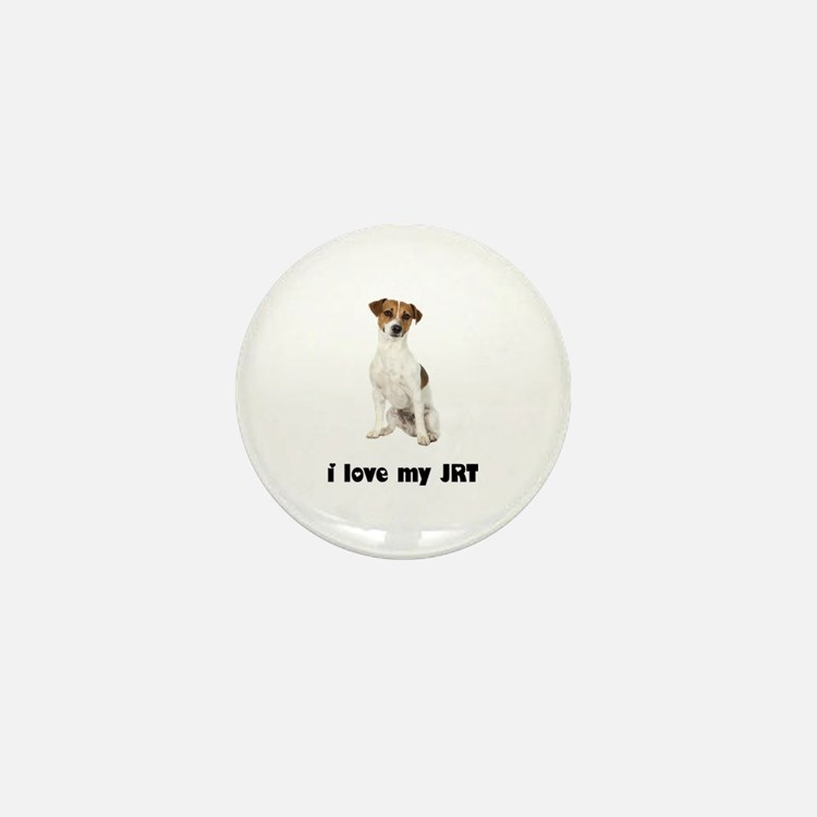 Jack Russell Terrier Lover Mini Button