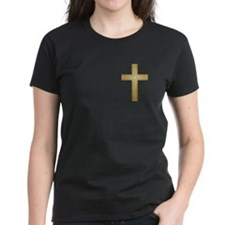 Gold Cross Tee