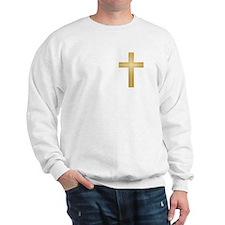 Gold Cross Sweatshirt