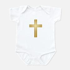 Gold Cross Infant Bodysuit