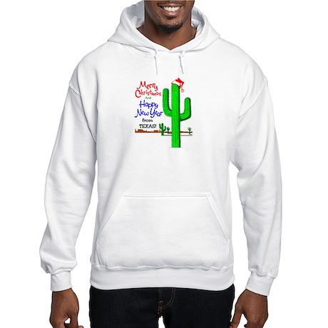 Texas Christmas Hooded Sweatshirt