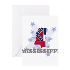 All Star Mississippi Greeting Card