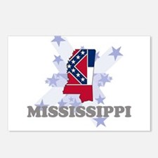 All Star Mississippi Postcards (Package of 8)