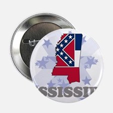 """All Star Mississippi 2.25"""" Button"""