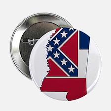 "Mississippi Stripe Custom Des 2.25"" Button"