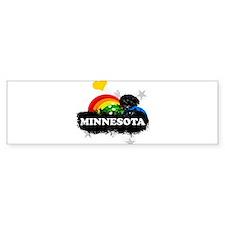 Sweet Fruity Minnesota Bumper Sticker (10 pk)