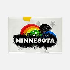 Sweet Fruity Minnesota Rectangle Magnet
