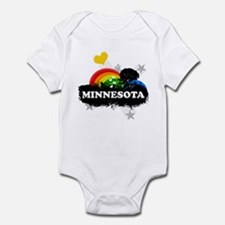 Sweet Fruity Minnesota Infant Bodysuit