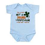 Baby Not Leprechaun Infant Bodysuit