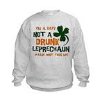 Baby Not Leprechaun Kids Sweatshirt