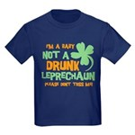 Baby Not Leprechaun Kids Dark T-Shirt