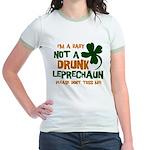 Baby Not Leprechaun Jr. Ringer T-Shirt