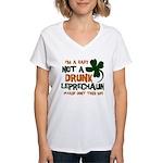 Baby Not Leprechaun Women's V-Neck T-Shirt