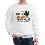 Baby Not Leprechaun Sweatshirt