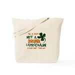 Baby Not Leprechaun Tote Bag