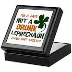 Baby Not Leprechaun Keepsake Box