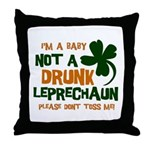 Baby Not Leprechaun Throw Pillow