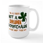 Baby Not Leprechaun Large Mug