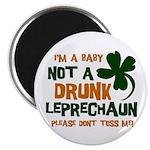 Baby Not Leprechaun Magnet