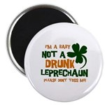 "Baby Not Leprechaun 2.25"" Magnet (100 pack)"