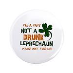 "Baby Not Leprechaun 3.5"" Button (100 pack)"