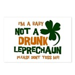 Baby Not Leprechaun Postcards (Package of 8)