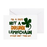 Baby Not Leprechaun Greeting Cards (Pk of 20)