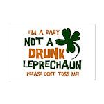 Baby Not Leprechaun Mini Poster Print