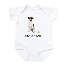Jack Russell Terrier Life Infant Bodysuit
