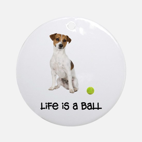 Jack Russell Terrier Life Ornament (Round)