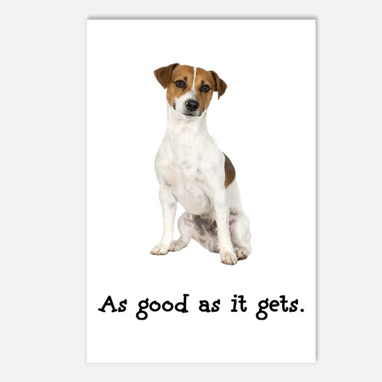 Good Jack Russell Terrier Postcards (Package of 8)