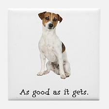 Good Jack Russell Terrier Tile Coaster