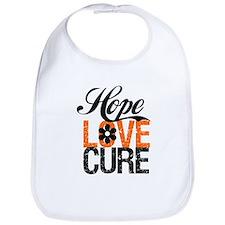 Leukemia HopeLoveCure Bib