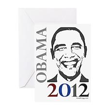oddFrogg Obama 2012 Greeting Card