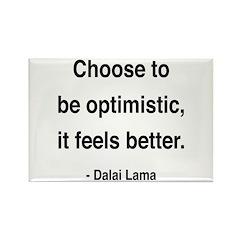 Dalai Lama 6 Rectangle Magnet