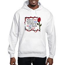 Rose Anti Valentine's day Hoodie