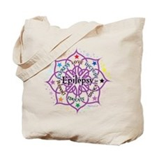 Epilepsy Lotus Tote Bag