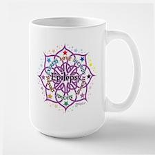 Epilepsy Lotus Large Mug