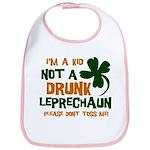 Kid Not Leprechaun Bib