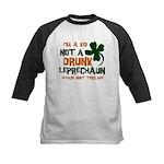 Kid Not Leprechaun Kids Baseball Jersey